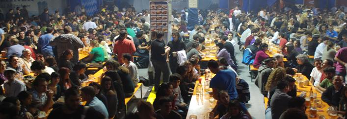 Así es el ambiente de la Feria de la Cerveza