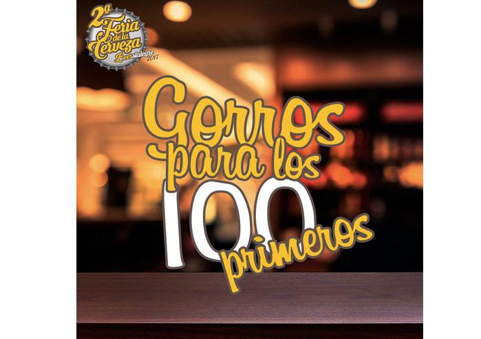 100 Gorros de Paulaner para los 100 primeros